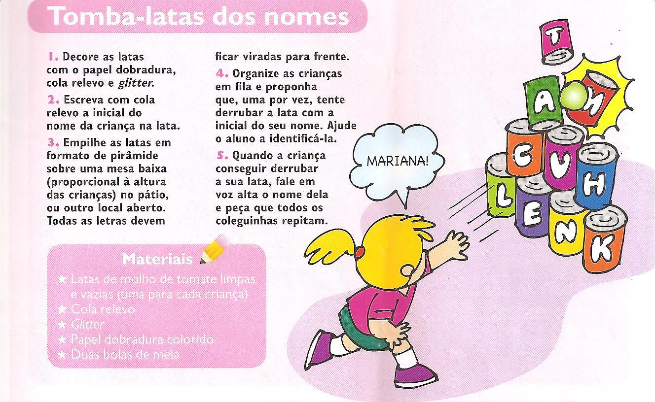 Famosos RECRIANDO Rede de Crianças Dókimos: DINÂMICAS E BRINCADEIRAS PARA  QB99