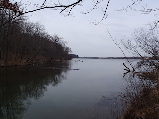 Illinois River from Starved Rock State Park