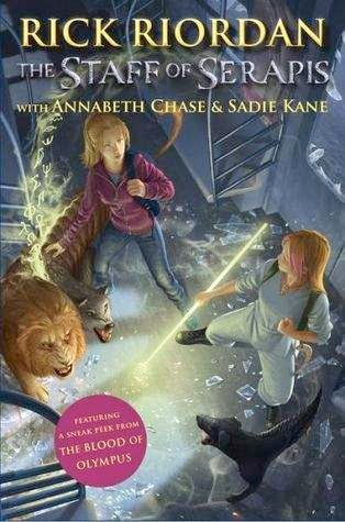 bookcover of THE STAFF OF SERAPIS  (Percy Jackson & Kane Chronicles Crossover #2)  by Rick Riordan