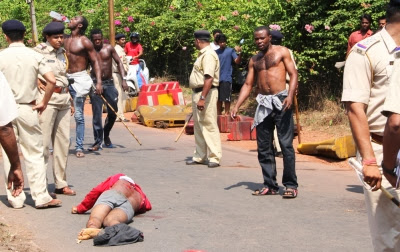 nigerian killed in goa india