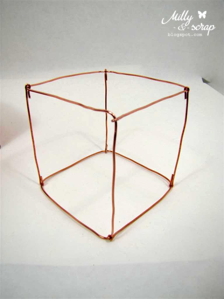 Куб из проволоки как сделать