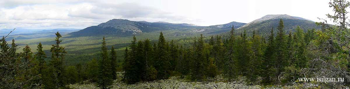 Гора Большой Иремель. Республика Башкортостан.