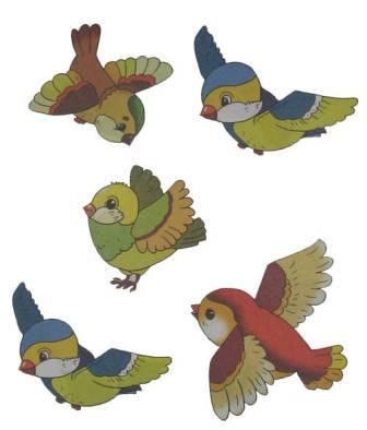 Не перелетные птицы раскраска