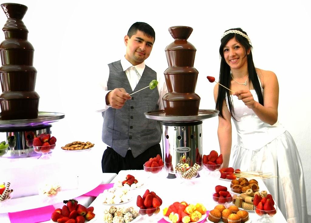 Cascada de chocolate en Rosario