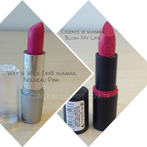 Wet n Wild E511B, Blush My Lips.