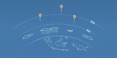 Balon Wifi Google udara