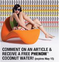 Free Phenom Coconut Water
