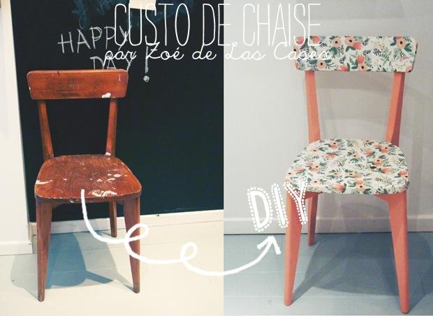 Elle critique blog lifestyle voyages mode paris mes coups de coeur - Customiser une chaise ...