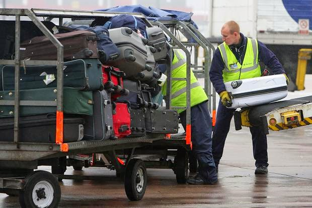 Airport baggage handler resume