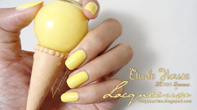 Lacqueerisa: Etude House Ice Cream, Banana