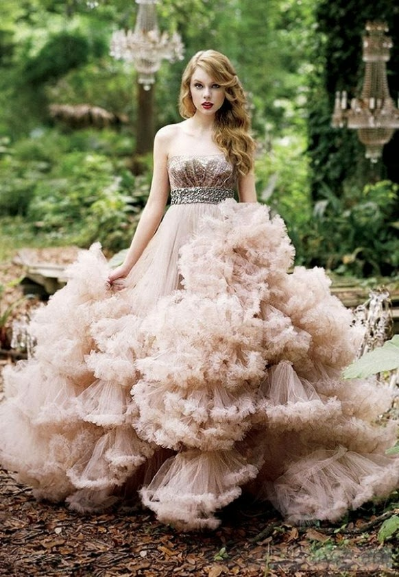 Her Dress Would Billow And Wave In The Wind Like Anemone Sea