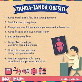 Tanda-tanda Obesiti