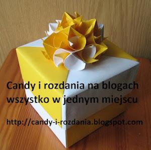 Candy i rozdania: