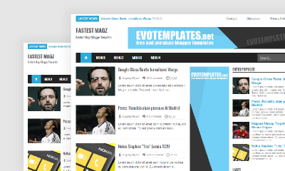 Fastest Magz Blogger Templates