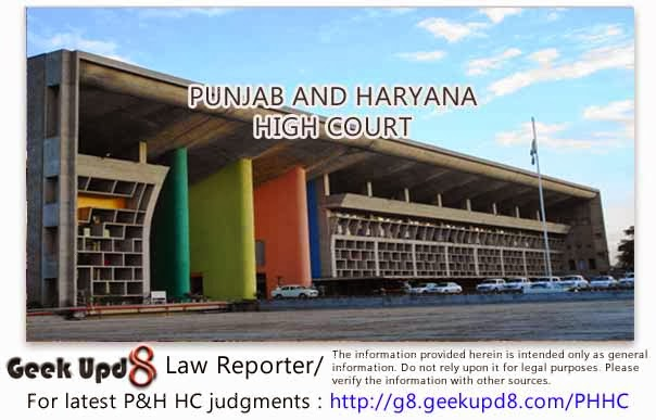 Punjab and Haryana High Court, Chandigarh