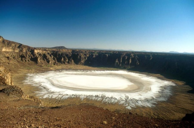 White Crater in Saudi Arabia - Al Waba