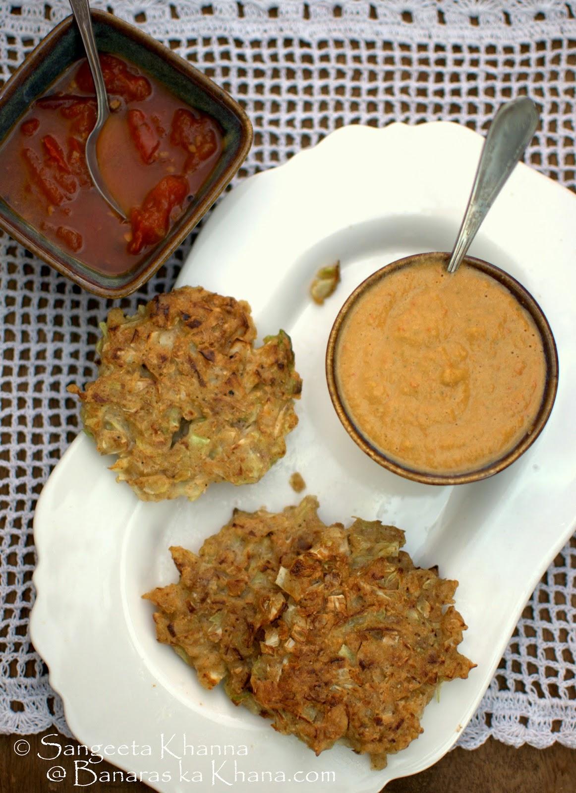 101 gluten free breakfasts : buckwheat-cabbage savoury pancakes with a sesame dip