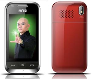 Handphone Ponsel Terbaru: Mito 833 Ponsel touchscreen terjangkau