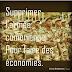 """""""Supprimer l'armée pour faire des économies """""""