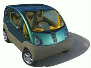 காற்றை எரிபொருளாக பயன்படுத்தி செல்லும் புதிய கார்  Tata+car