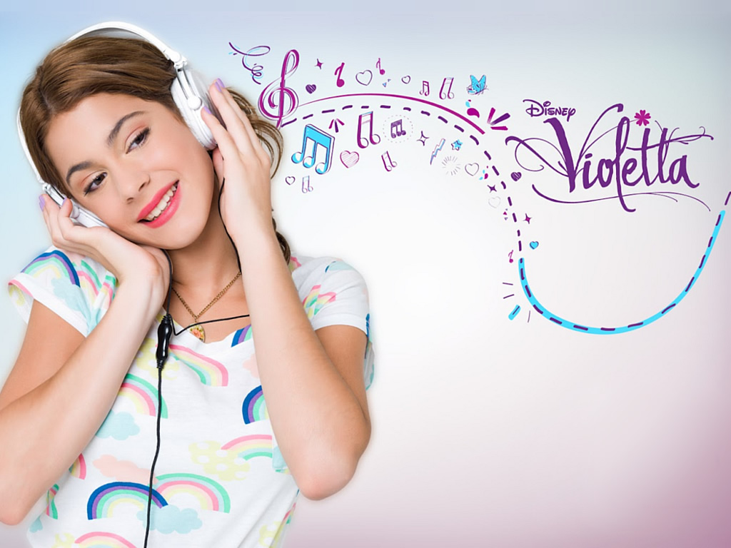 WALLPAPER VIOLETTA (DISNEY CHANNEL)