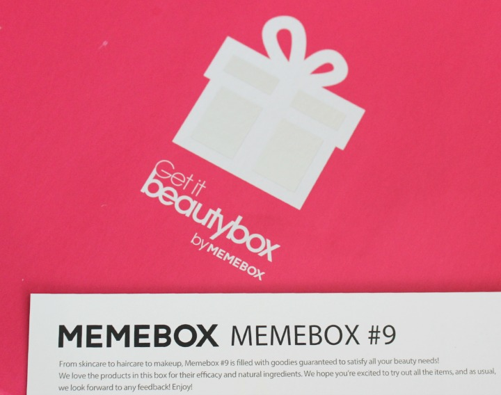 Memebox Global Edition #9 Review & Unboxing