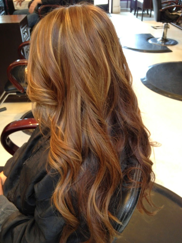 warm brown with a few bright highlights
