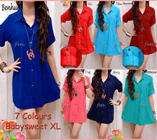 dress katun rayon