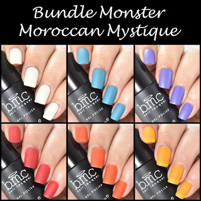 Bundle Monster Moroccan Mystique Matte Gel Polish Collection Review