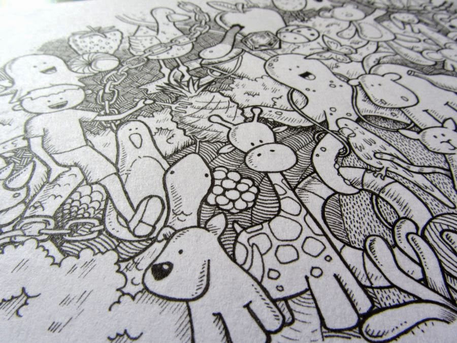 clare willcocks doodle artist
