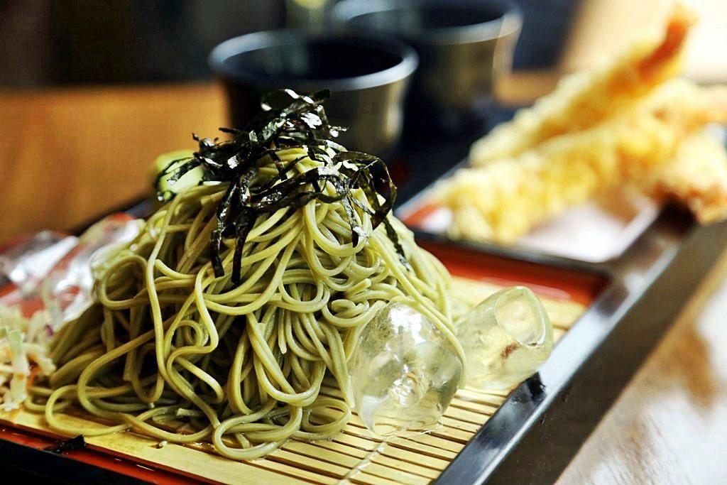 Ushi Ebi Tempura Soba Kessaku Japanese Restaurant