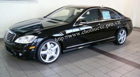 Cho thuê xe Mercedes S65