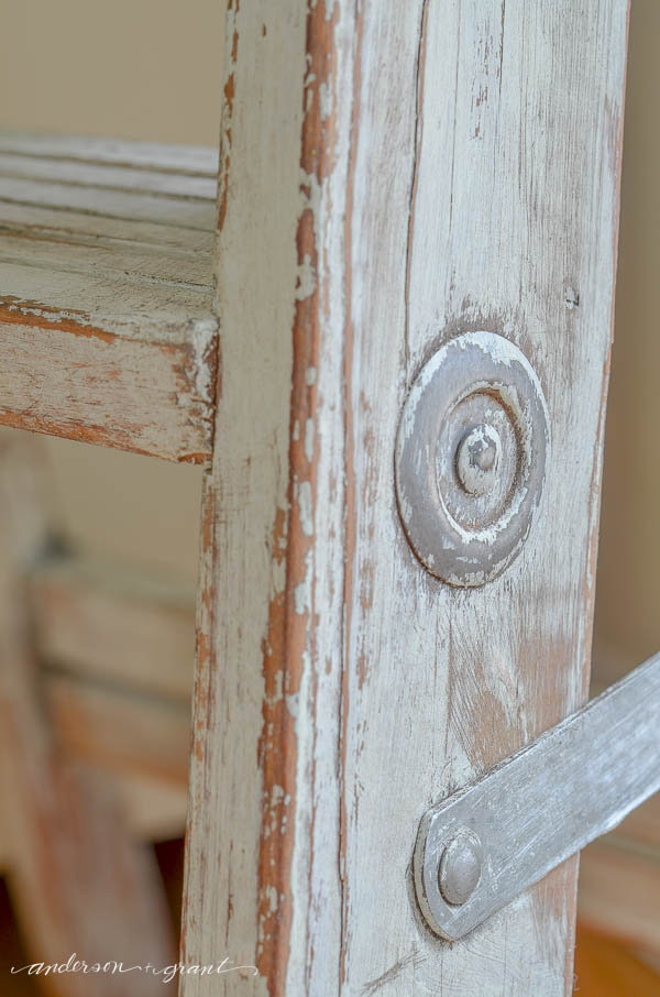 Chalk Paint on Metal Hardware