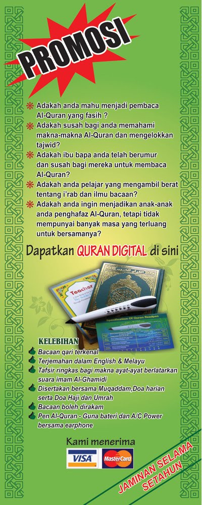 Promosi Al-Quran Digital Read Pen