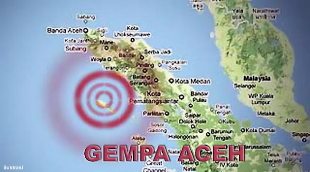 Banda Aceh Kembali Diguncang Gempa 6 Skala Richter