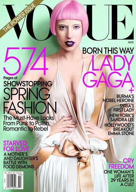 Lady Gaga Us Vogue. Lady Gaga for US Vogue