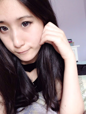 The Geo Xtra Heart Pink circle lenses are super cute and suitable for an ulzzang or doll-like look.
