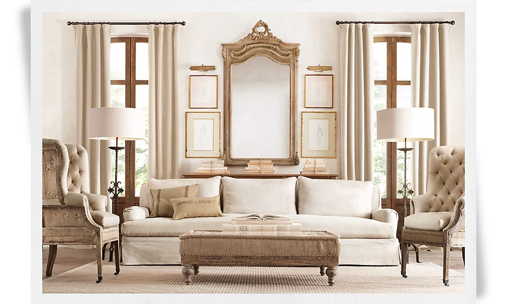 Restoration Hardware Living Room Colors