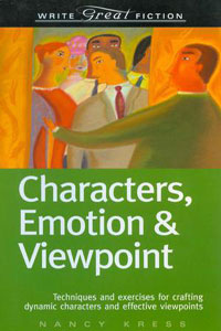 Portada de Characters, Emotions & Viewpoint, de Nancy Kress