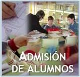 Admisión de alumnos curso 2015-16
