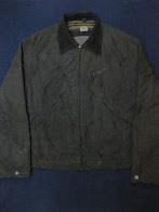 画像①                40's~50's 「HERCULES」               BLACK CHAMBRAY                WORK JACKET