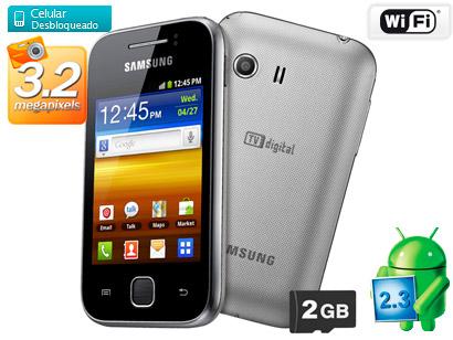 Samsung Galaxy Y TV S5367 Hp Android Harga Spesifikasi