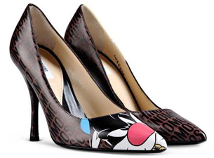 Moschino Looney Tunes zapatos de tacón