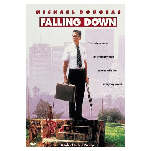 Film Poster Falling Down 1993 Michael Douglas movieloversreviews.blogspot.com