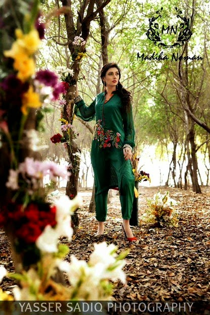 Madiha Noman Eid 2014 Dresses