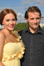 Min fina son Pontus &amp; sta dotter Emelie p hennes studentbal -12