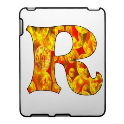 3Bubble Letters R