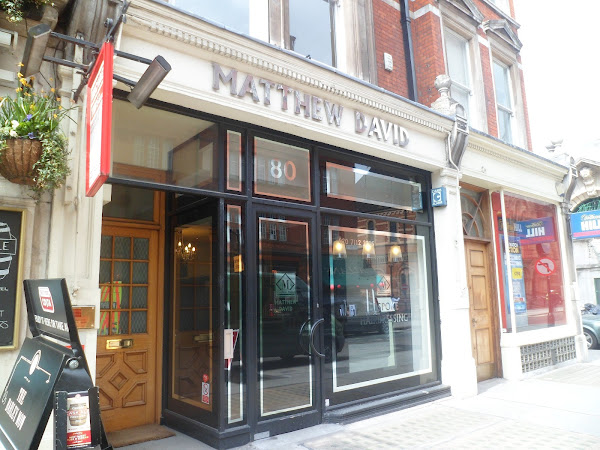 Matthew David Bespoke Hairdressing Mayfair London