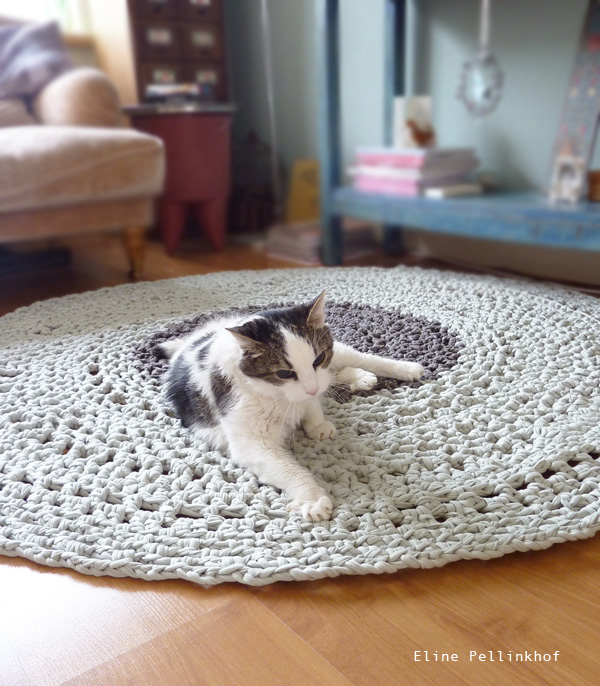 Eline Pellinkhof Crochet rug