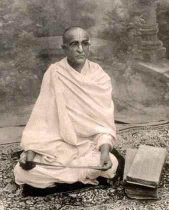 (Portrait of Srila Bhaktisiddhanta Sarasvati Thakura Prabhupada)